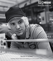 cover of Nestlé in society 2014