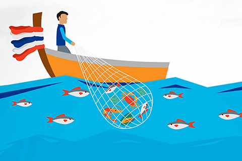 How has Nestlé improved its seafood sourcing?