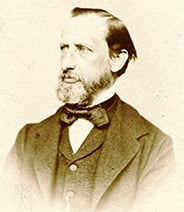 portrait of Henri Nestlé
