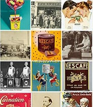 collage of vintage images