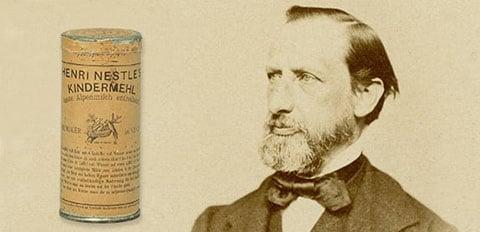Henri Nestlé's 'farine lactée'
