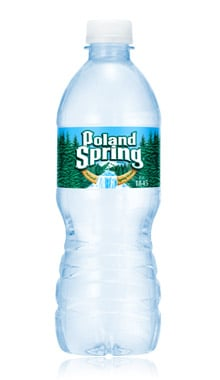 Poland Spring bottle