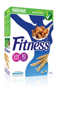 Fitness cereals pack