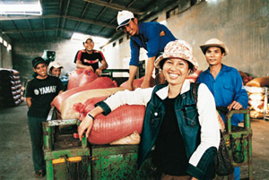 Nestlé works closely with farmers and coffee cooperatives