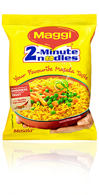 maggi branding Nestle india's most-famous noodle brand maggi, which was in the news for  wrong reasons last year and faced product ban, has retained its.