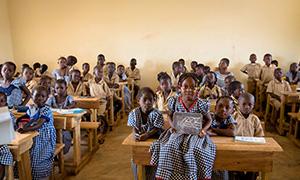Cote d'Ivoire Classroom