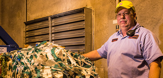 James Julien is a packaging materials handler at our Purina Pet Foods factory in Oklahoma City