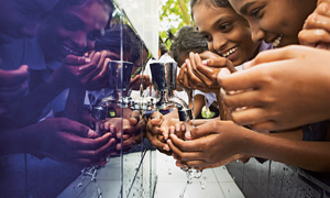 Providing cleandrinking water facilities in Sri Lanka