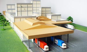Model of Indonesian factory