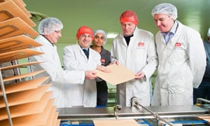 New UK wafer production line