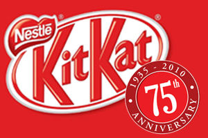 Kit Kat 75th birthday
