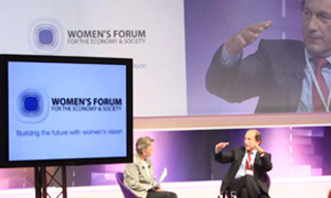 Nestlé CEO Paul Bulcke at the Forum
