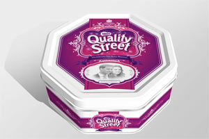 Quality Street Royal Wedding tin