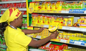 Maggi products sold in Africa