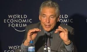 Peter Brabeck-Letmathe talking at WEF Davos 2011