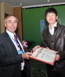 Peter van Bladeren and Zhiui Feng