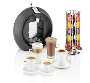 Dolce Gusto machines, coffee and capsules