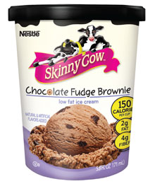 Skinny Cow ice cream