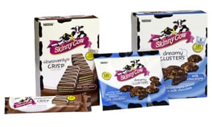 Skinny Cow new confectionery range