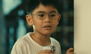 Boy in the TV Ad