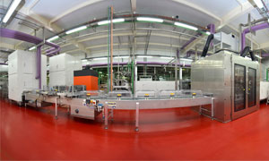 New confectionery production line at Nestlé's factory in La Penilla de Cayon, Spain