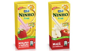 Nestlé's Ninho Fruti products