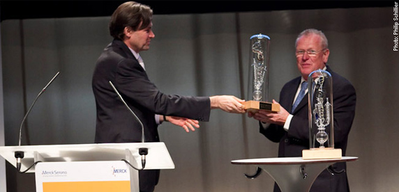 Werner Bauer awarded the BioAlps Prize