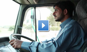 Nestlé driver in Pakistan. Opens in new window: YouTube video