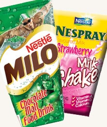 Milo and Nespray