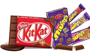Kit Kat and Munch