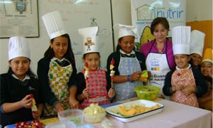 Nestlé Healthy Kids programme in Ecuador