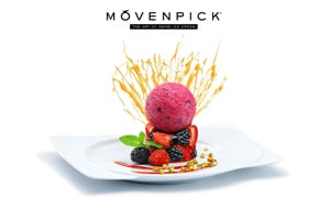 Movenpick ice cream berry tartare dessert