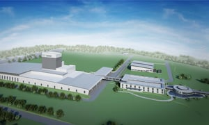 Artist's impression of the Tanauan factory, Philippines
