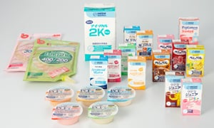 Healthcare products from Nestlé Japan