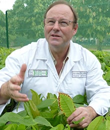 Hans Joehr, Nestlé's Head of Agriculture