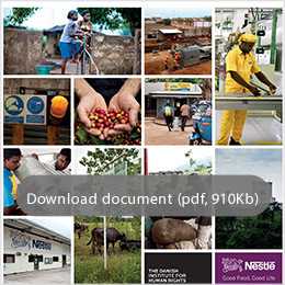 Nestlé Human Rights White Paper - pdf