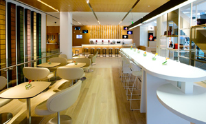 Inside the Nespresso boutique in San Francisco