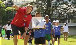 Healthy Kids' Athletics event