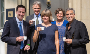Members of the new Nespresso Sustainability Advisory Board
