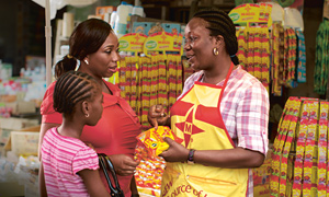 Selling iron- and iodine-fortified Maggi cubes in Nigeria