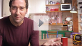 Arnaud presents the Nescafé Challenge video