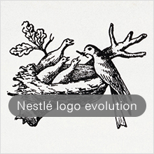 Nestlé logo evolution