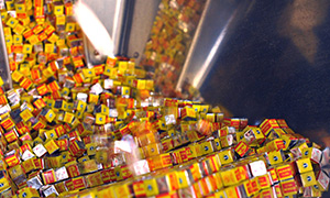 production of Maggi cubes