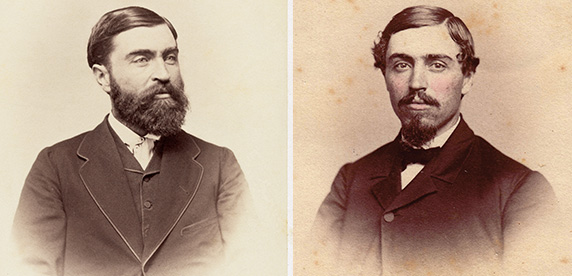 George and Charles Page