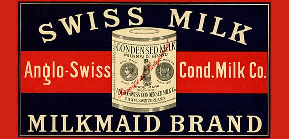 Milkmaid advertisement