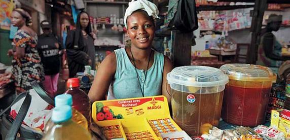 Maggi sales woman