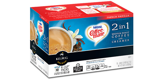 Coffee-mate Liquid Non-Dairy Creamer, Hazelnut, fl oz. Pump Bottle Liquid Non-Dairy Creamer, Hazelnut, Concentrated, No refrigeration necessary, Kosher, quart bottle with pump May be available In-Warehouse at a lower non-delivered price.