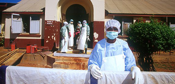 fighting ebola in West Africa