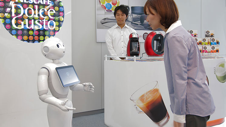 Nestlé to use humanoid robot to sell <EM>Nescafé</EM>