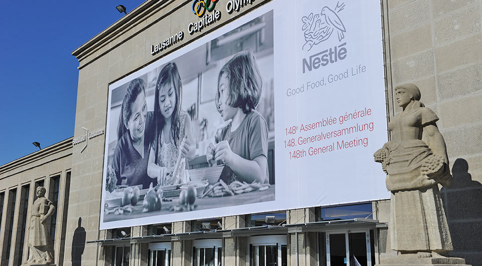 Nestlé's 148th Annual General Meeting